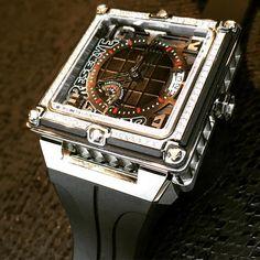TIRET 40mm Gotham watch.