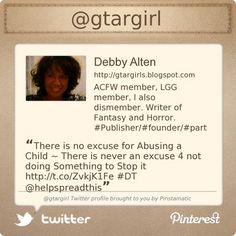 @gtargirl's #Twitter profile courtesy of @Pinstamatic (http://pinstamatic.com)
