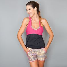 Layer Top by Denise Cronwall, Denise Cronwall Activewear Jewel Collection, #activewear, #tennis, #fitness, #workout, #apparel, #style, #fashion, #unique, #boutique, #training, #pants, #bra, #top, #designer, #skirt, #athleisure