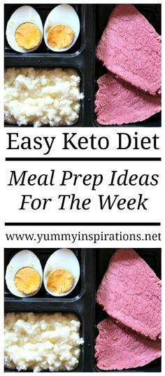 Keto Meal Prep Ideas For The Week – Easy Sunday Low Carb Meal Prep Recipes for Ketosis Weight Loss and Healthy Meals