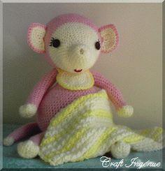 Pot Belly Baby Mouse Free Crochet Pattern
