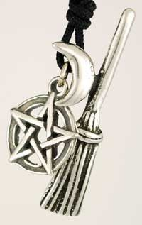 #pagan #wicca #witchcraft #celtic #druid #tarot Witch`s Broom amulet $8.95