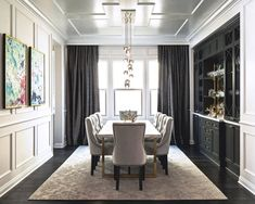 42 Unusual Traditional Dining Room Design Ideas That Looks Elegant Dining Room Wall Decor, Dining Room Lighting, Dining Room Design, Decor Room, Dining Room Chairs, Dining Room Furniture, Dining Room Drapes, Furniture Design, Furniture Buyers