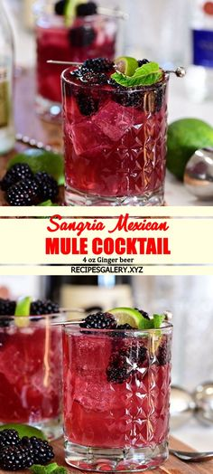SANGRIA MEXICAN MULE COCKTAIL Spicy Recipes, Keto Recipes, Cake Recipes, Cooking Recipes, Drink Recipes, Easy Dinner Recipes, Breakfast Recipes, Easy Meals, Peanut Butter Blondies Recipe