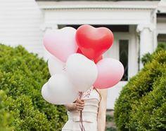 6 inch Heart Ballon