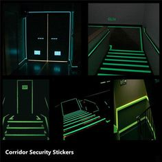 Luminous Tape Self-adhesive Safety Stage Home Decor – mollyee Goods And Service Tax, Blue Green, Color Yellow, The Darkest, Adhesive, The Unit, House Styles, Safety, Mopar