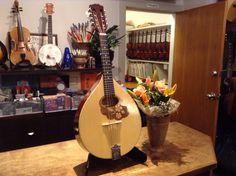 Romanian mandola and flowers.