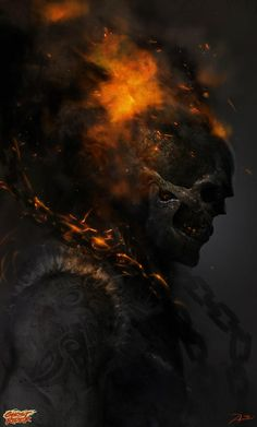 Ghost Rider by Adnan Ali *