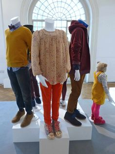 Mustard for the boys and sheer tops for girls at M a/w13 preview of the new kidswear collection