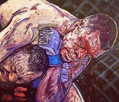 Nate Diaz vs Conor McGregor artwork : if you love #MMA, you'll love the #UFC & #MixedMartialArts inspired fashion at CageCult: http://cagecult.com/mma