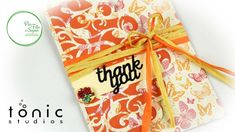 Thank you card (Tonic Studio)
