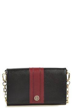 Tory Burch 'Robinson' Wallet on a Chain available at #Nordstrom