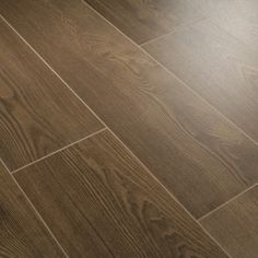 Series 7mm Loc Coffee V Groove Laminate Flooring