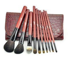 10 Sable makeup brush set Makeup tools Makeup brush brushes set ** Read more reviews of the product by visiting the link on the image.