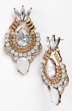 Prom inspiration   Antique style earrings.