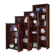 kathy ireland Home by Martin Furniture Tribeca Loft Standard Bookcase