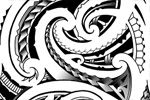 original maori tatoos flash for sale