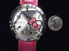 'Bright Pearl Pink Hello Kitty Adult Watch' is going up for auction at 11am Thu, Sep 6 with a starting bid of $5.