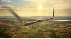 Solar powered flight in the Troposhere at 65,000' for up to 5 years, limited only by the battery life.