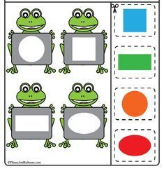 Toddler Learning Activities, Preschool Learning Activities, Preschool Worksheets, Kids Learning, Learning Shapes, Kids Education, Farm Theme, Kids Learning Activities, Kids Activity Ideas