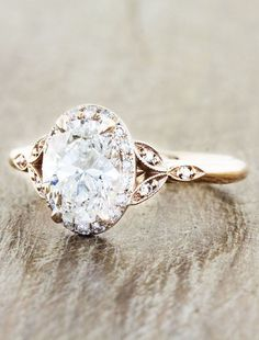 Engagement Rings with Glamorous Charm - MODwedding
