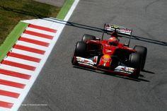 Kimi Raikkonen, Ferrari, Circuit de Catalunya, Saturday, 2014