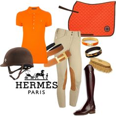 Definatly one of my favorite high end brands, Hermes is classic, timeless, and whimsical. I started off with a polo in the iconic orange color. I stayed traditi...