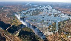 Much bigger than Niagara...much less tourists than Niagara - Imgur