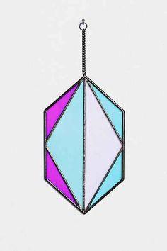 Magical Thinking Glass Hexagon Wall Sculpture