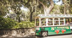 St. Simons Trolley Tour | Golden Isles, GA