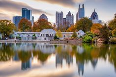 Atlanta – City in a ForestBuffalo: City of No Illusions – 10 Amazing FactsCharleston: Home to 5 Fine Beach TownsDenver: The Mile High City – 5 Top Things To DoEl… Atlanta City, Atlanta Hotels, Atlanta Skyline, Georgia Usa, Atlanta Georgia, Tri Cities, Best Cities, Moving To Another State, Piedmont Park
