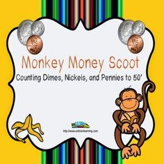 Show Me the Money!Money Scoot by SOL Train Learning is a fun and exciting game that gets all of your students moving. There are task cards that just have one kind of coin so you can also see if students can count just pennies, nickels or dimes and task cards that mix the coins. Read more!
