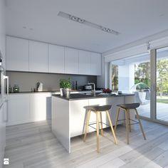 Dostępny 4A - niewielki dom z nowoczesnymi akcentami - zdjęcie od DOMY Z WIZJĄ…