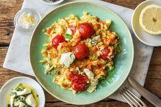 Mediterranes Tomatenrisotto mit Zitrone,