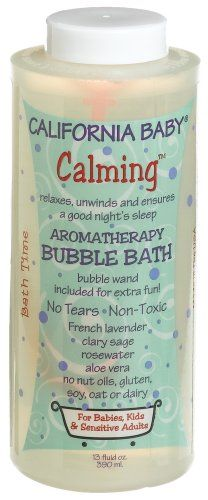 smells like heaven and comes with a bubble wand, pricey but sooooo worth it:)