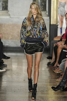 Obsessed with these shorts....Emilio Pucci RTW Spring 2014