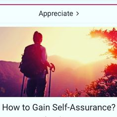 How to gain Self-Assurance! // Written by Jennifer Harbaugh //// Everyone is their own worst inner critic whether it is what we wear or the tasks upon which we are working. Join author Jennifer Harbaugh as she shares How to Gain Self-Assurance?