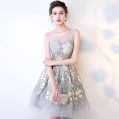 cce74dc68e6 Lace with Flower Pattern. Knee Length Cocktail DressCocktail DressesFast ...