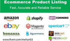 Are you trying to add more products to your ecommerce store and doesn't have enough time to do it?  You don't need to worry about your online store now. I am offering products uploading service for almost all platforms.  I will add products manually with images and description in your eCommerce site like Shopify, Woocommerce, Wix, Ecwid, Big-commerce, Magneto, Prestashop, Open-cart etc.