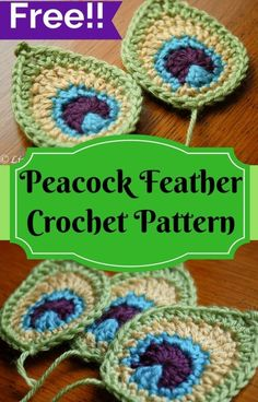 Peacock Feather Applique - Free Pattern