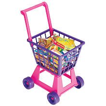 Just Like Home Lil' Shopper Shopping Cart - use as a gift bag alternative for a shower gift