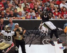 ANDRE JOHNSON SIGNED AUTOGRAPHED HOUSTON TEXANS 8x10 PHOTO PSA/DNA #V48467 -- Awesome products selected by Anna Churchill