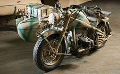 1940 Zundapp KS750 Motorcycle with Sidecar