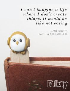 Jane Drury from Earth and Air jewellery on what craft means to her.  Read the full interview on our blog.