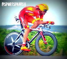 ¡MEDALLAAAAAAA DE OROOOOOO! Luis León Sánchez gana en la prueba en ruta de #Bakú2015  @jesushl90 4º.