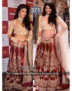 Bollywood Designer Jacqueline Party Wear Multi Color Lehenga Choli