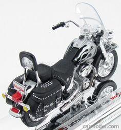 1:18 MAISTO Motorrad Modell Harley-Davidson 2002 FLSTC Heritage Softail Classic