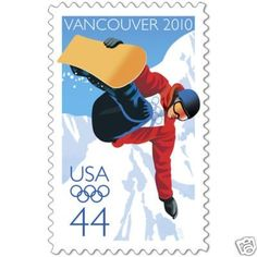 Vancouver 2010 Olympic Winter Games 1 (One) 44 us Stamp . $1.89. Vancouver 2010 Olympic Winter Games 1 (One) 44 us Stamp