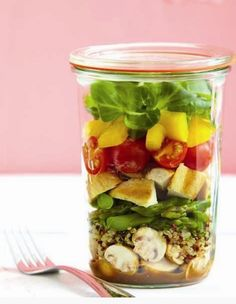 For The Most Instagramable Lunch Ever: 14 Healthy Mason Jar Salad Recipes | Be Well Philly#gallery-1-1