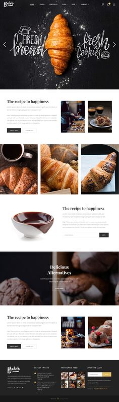 Baker is Premium full Responsive Parallax WordPress Theme. Retina Ready. #WooCommerce. Visual Composer. If you like this #BakeryTheme visit our handpicked list of best WordPress #ThemesforBakeries at: http://www.responsivemiracle.com/best-responsive-wordpress-themes-for-bakeries/